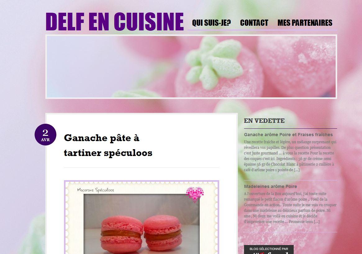 Delf en cuisine for Site de cuisine