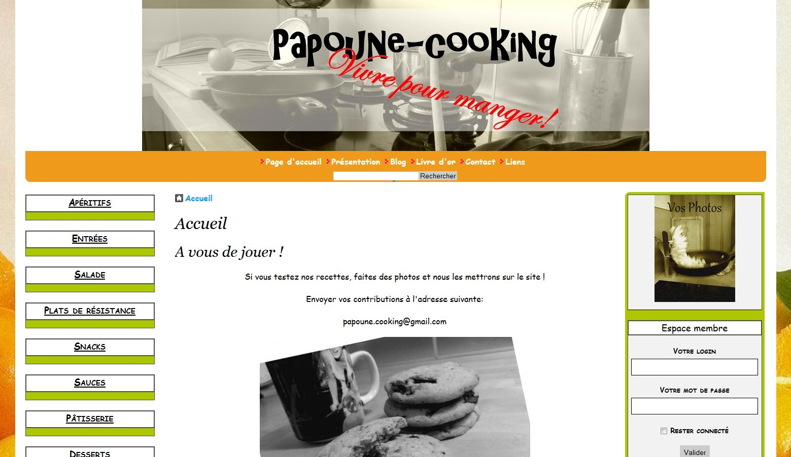 Papoune-cooking